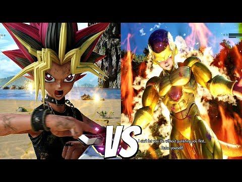 JUMP FORCE - Yugi vs Golden Frieza 1vs1 Gameplay (PS4 Pro)