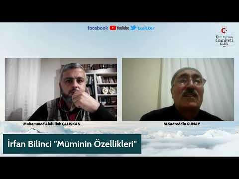 İRFAN BİLİNCİ/ SADREDDİN GÜNAY