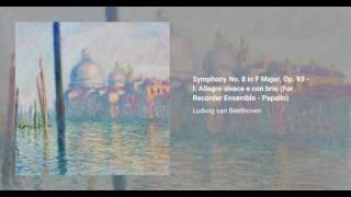 Symphony no. 8 in F, Op. 93