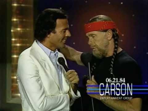 Julio Iglesias & Johnny Carson Sing