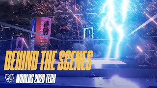 Behind the Scenes, le décor des Worlds 2020