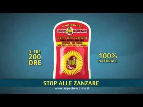 SUPER BRACCIALE Scaccia Zanzare