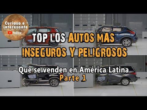 Top 10 Los autos más inseguros y peligrosos que se venden en Latinoamérica. #ExijoAutoSeguro
