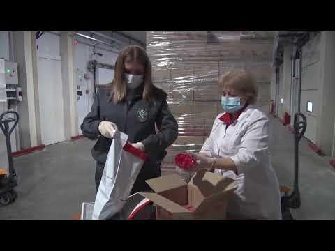 В Ростовской области Управлением Россельхознадзора проконтролирована отправка партии мороженого в Украину