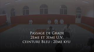 preview picture of video 'Ac.A.Ma. Créteil Le Cercle - Kömöri Ryu - Passage de grade 2ème kyu (ceinture bleu) 1/2'