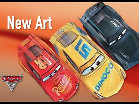Cars 3 New Book Art & Dinoco Cruz Ramirez - Speculation & Breakdown