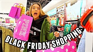Come Black Friday shopping with me!🛍️😅 Gift shopping 2018