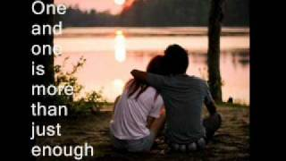 one of two-gary chapman (with lyrics)