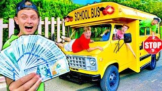 Last To Leave School Bus Wins $10,000!!