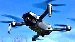 Tomzon D40 CAMERA & APP TEST Brushless Drone 4K GPS FPV EIS RTH Optical Flow REVIEW