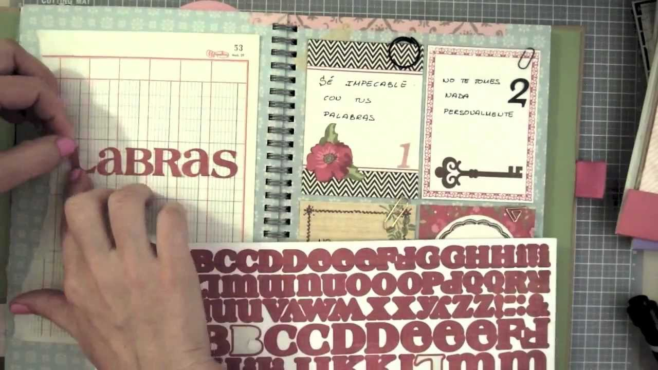 Smash Book Terapia: 19.03.13 *Cómo hacer un diario de Scrap* Smash book tutorial