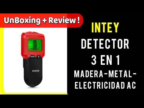 Detector De Pared  3 N1 Metales Madera Corriente Alterna INTEY | UnBoxing  Review en Español