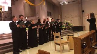 Prayer of Saint Francis with SCSU choir