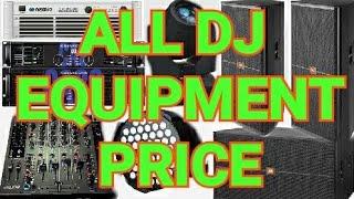 How To Start Dj Buisiness In Hindi !! Part 2 !! Basic Equipment Price !! Small Setup!! 4 Top 2 Bass!