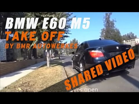 BMW E60 M5 V10 with IPE F1 Valvetronic Exhaust System