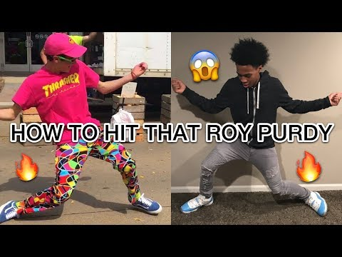 HOW TO DO THE ROY PURDY DANCE | OFFICIAL TUTORIAL ❗️
