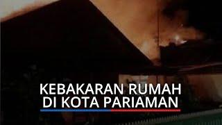 KRONOLOGI Kebakaran Hanguskan 2 Rumah di Kota Pariaman, Kerugian Mencapai Rp 800 Juta