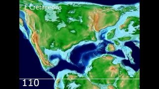 Plate Tectonic Evolution of the North Atlantic: Scotese Animation