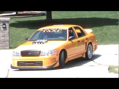 Taxi Movie Car Burnout (Queen Latifah / Jimmy Fallon Movie car)