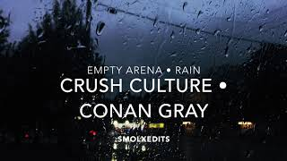 [EMPTY ARENA + RAIN] Conan Gray   Crush Culture