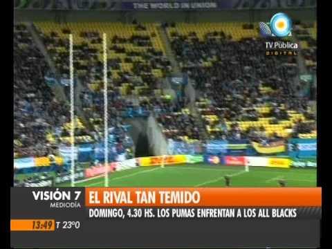 Visión Siete: Los Pumas vs. All Blacks: El rival tan temido