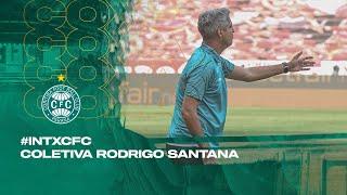 #INTxCFC - Coletiva Rodrigo Santana