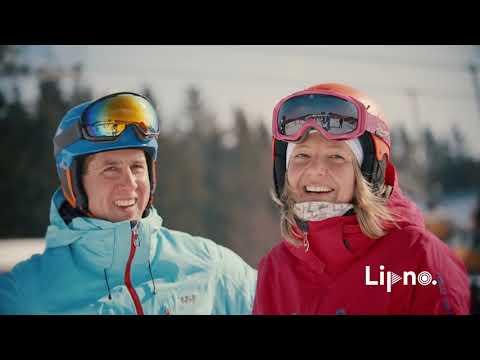 Lipno - lyžařský areál nejen pro rodiny s dětmi - © Lipno