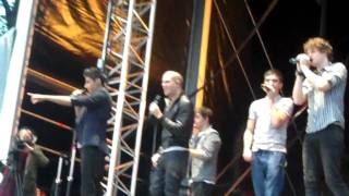 The Wanted - 'Replace Your Heart' @ Hamilton Racecourse