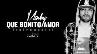Manhy - Que bonito amor Instrumental ORIGINAL [Descarga]