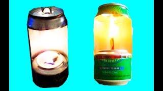 lamparina que utiliza oleo de cozinha.
