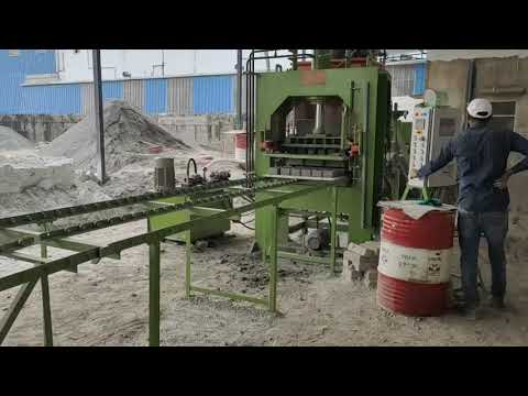 High Pressure Fly Ash Brick Machine