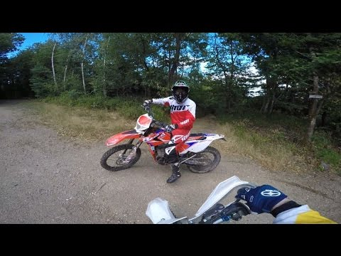Enduro Run Beta 350 RR vs Husqvarna FE 501