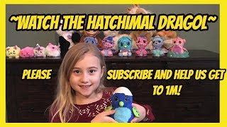 HATCHIMAL VIDEO RARE DRAGOL- TOY WORLD WEEKLY