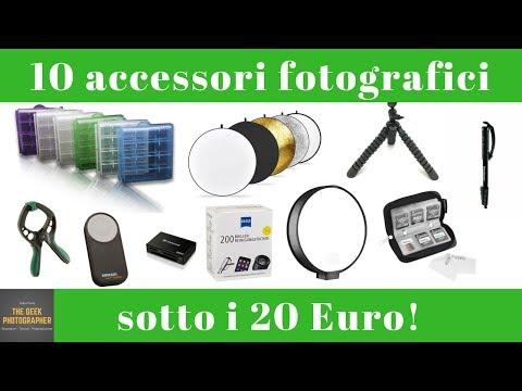 10 accessori fotografici a meno di 20 euro: i miei preferiti!