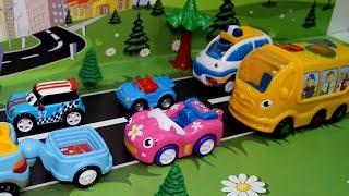 Мультик - Автобус спешит на экскурсию. Мультики про машинки - Развивающие мультфильмы для детей.