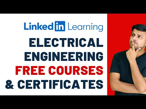 Electrical Engineering (ECE) Free Courses with Certificates | Linkedin Learning
