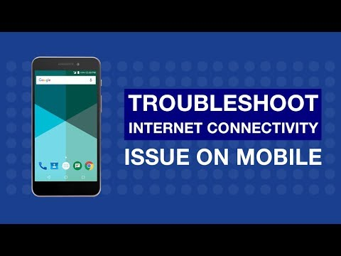 How to Troubleshoot unable to connect to Internet on Mobile