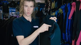 Wetsuit Thickness   Wetsuit Warehouse