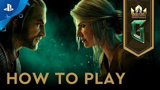 Gwent: The Witcher Card Game - How to Play   PS4