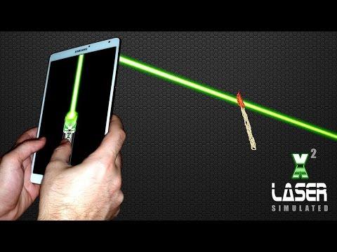 Vidéo simulateur laser pointeur  x2