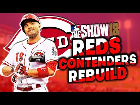 Cincinnati Reds CONTENDERS Rebuild! Trading Joey Votto? MLB The Show 18 Franchise Mode