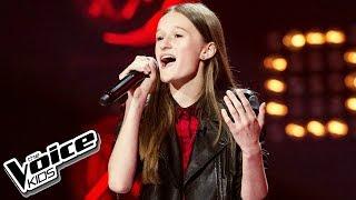 """Eliza Gąsiorowska   """"W Stronę Słońca""""   Przesłuchania W Ciemno   The Voice Kids Poland 2"""