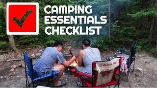 Non Campers Guide To Camping | Top 10 Camping Essentials Checklist