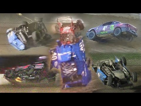 Dirt Track Crash Compilation