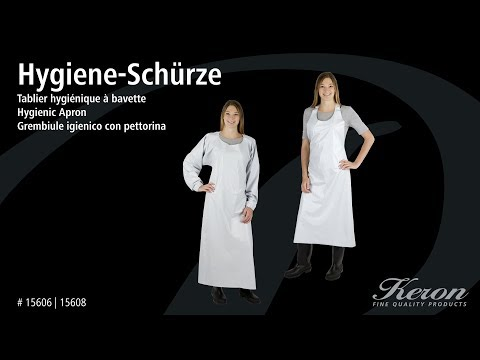 Hygiene-Latzschürze Keron (#15606 | 15608) (DE)
