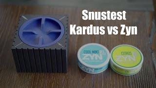 Snustest - Kardus vs. Zyn
