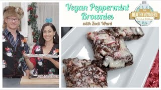 Vegan Peppermint Brownies Recipe with Zack Ward, A Christmas Story's Scut Farkas
