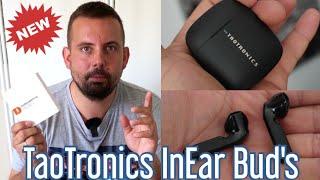✅ TaoTronics Bluetooth Kopfhörer | InEar Buds | BT 5.0 ✔ IPX7 ✔ Typ-C ✔ 2 Sekunden Kopplung möglich