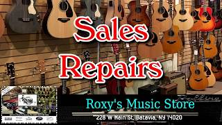 """DISC 151 - """"Roxy's Music Store"""", Batavia, NY"""