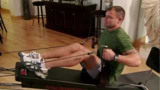 Seated Row on the Total Trainer Home Gym
